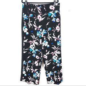 LANE BRYANT floral wide leg loose pant U5